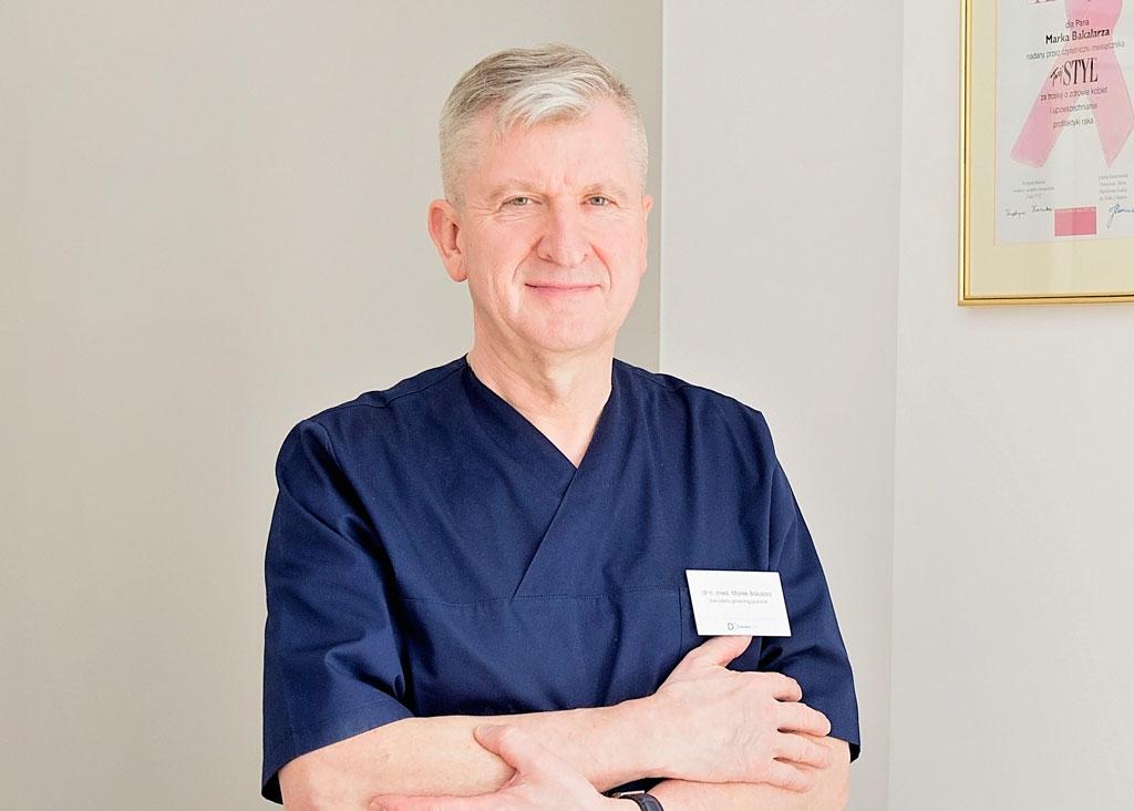 Ginekolog Marek Bakalarz
